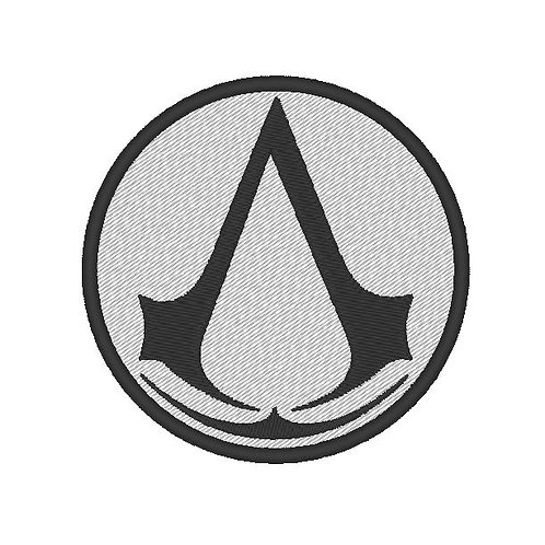 GAME - COSPLAY PATCH - ASSASSIN INSIGNIA - ASSASSINS CREED