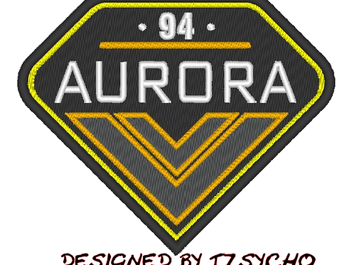 THE EXPANSE -  AURORA EMBROIDERED SUIT PATCH