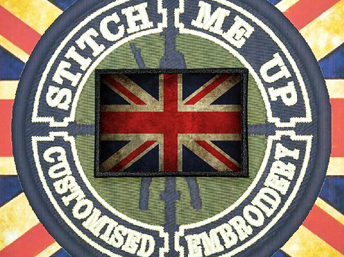 THERMAL IMAGE VINYL ARTISTIC STYLE  UNION FLAG