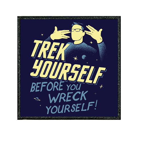 THERMAL VINYL PATCH - STAR TREK YOURSELF