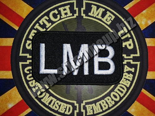 EMBROIDERED CALLSIGN PATCH LMB FROM THE DIVISION
