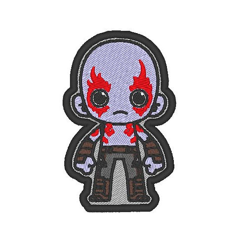 TV/ MOVIE - COSPLAY PATCH - GUARDIANS OF THE GALAXY DRAX