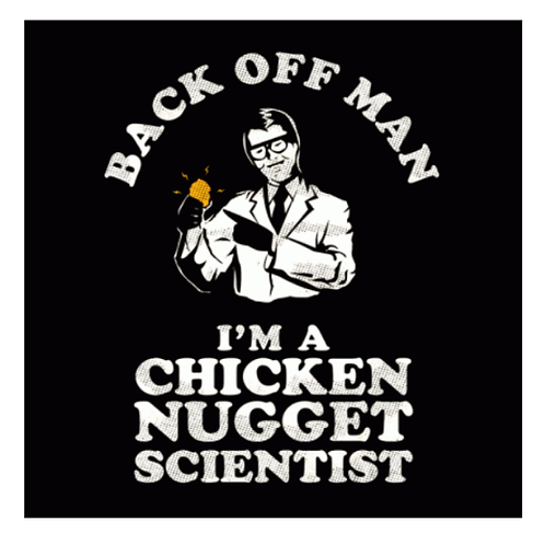 LoPro POLYFLEX POLYMER PATCH -MORALE CHICKEN NUGGET SCIENTIST