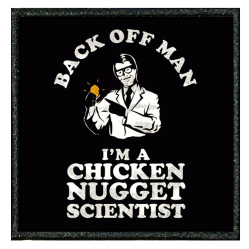 THERMAL VINYL PATCH - MORALE CHICKEN NUGGET SCIENTIST