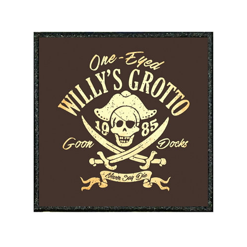 THERMAL VINYL PATCH - GOONIES WILLY'S GROTTO