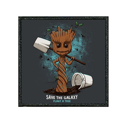 THERMAL VINYL PATCH - GROOT PLANT A TREE
