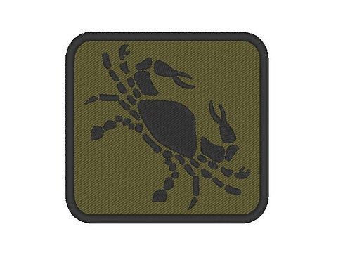 EMBROIDERED CANCER PATCH - ZODIAC COLLECTION