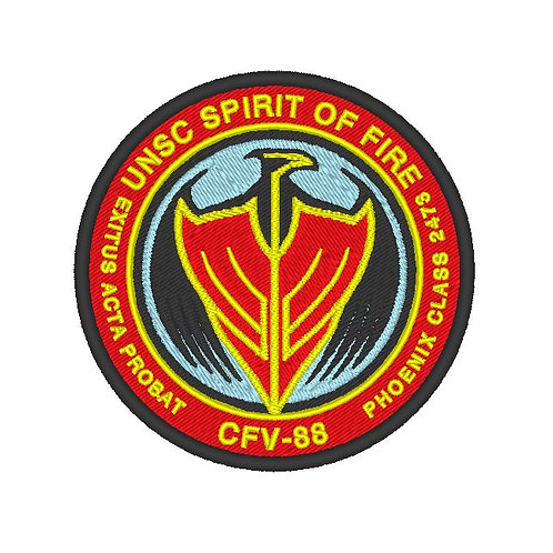 GAME - COSPLAY PATCH - HALO WARS SPIRIT OF FIRE