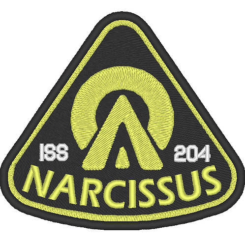 THE EXPANSE EMBROIDERED NARCISSUS PATCH
