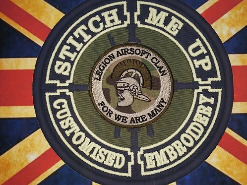 LEGION AIRSOFT CLAN PATCH MULTICAM