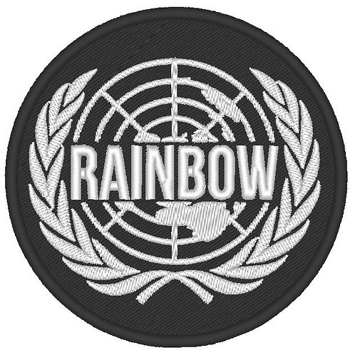 RAINBOW SIX LOGO PATCH V2