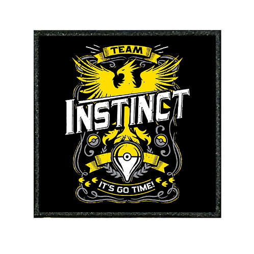 THERMAL VINYL PATCH - POKEMON TEAM INSTINCT