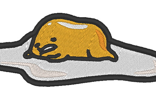 EMBROIDERED COSPLAY MORALE PATCH - SANRIO GUDETAMA