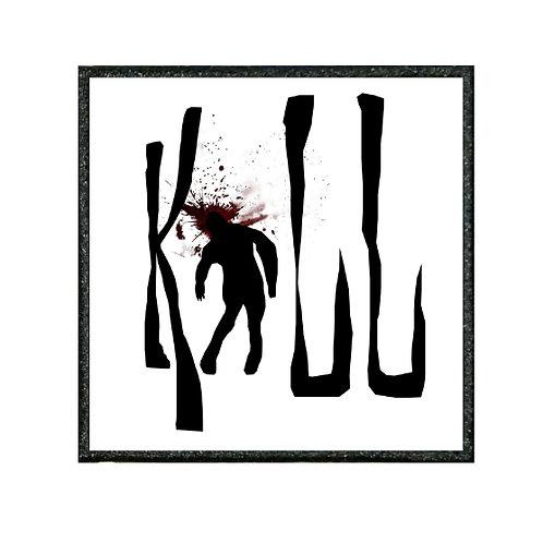 THERMAL VINYL PATCH - ZOMBIE KILL