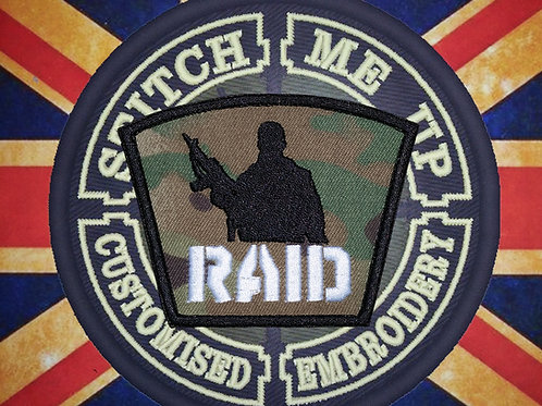 "OFFICIAL ""RAID WEST MIDLANDS"" PATCH"