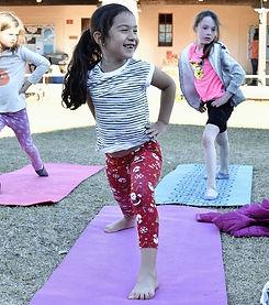 Student yoga after school program