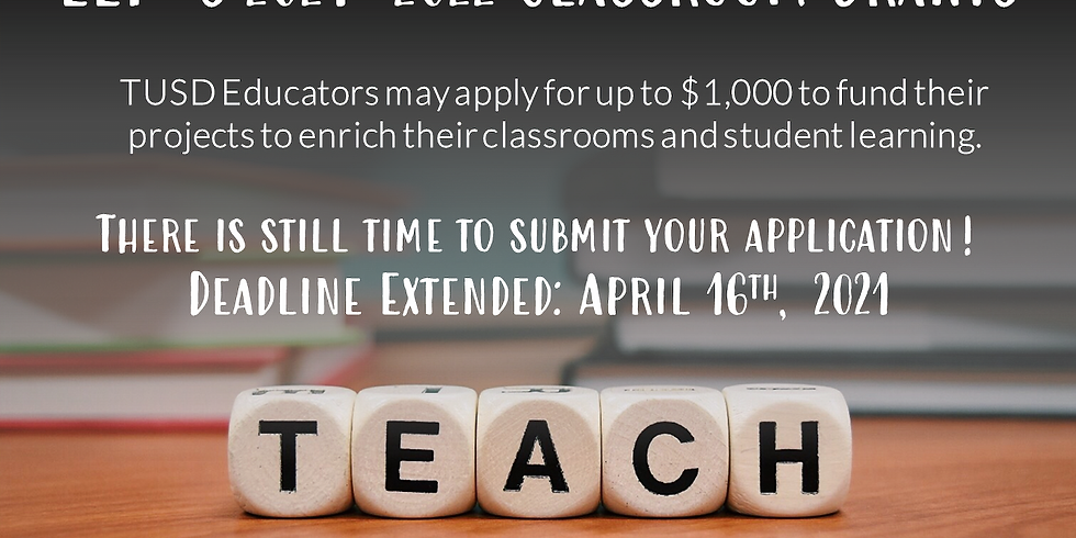 Classroom Grant Applications Accepted
