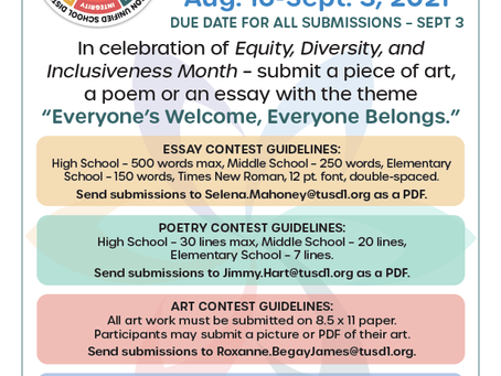 Poetry, Art, and Essay Contest