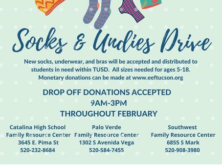 Socks & Undies Drive Press Release