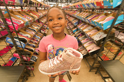 Young Girl at EEF Sneaker Event