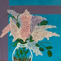 Lilacs in a Jar (24 x 24) $250.00.jpg