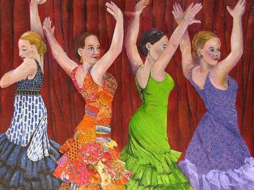 Four Tango Dancers