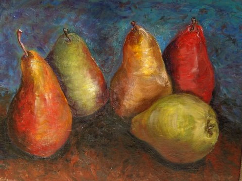 Autumn Pears (SOLD)
