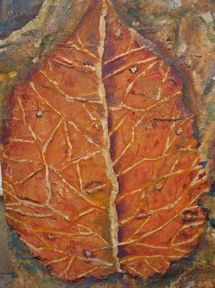 Petrified Leaf