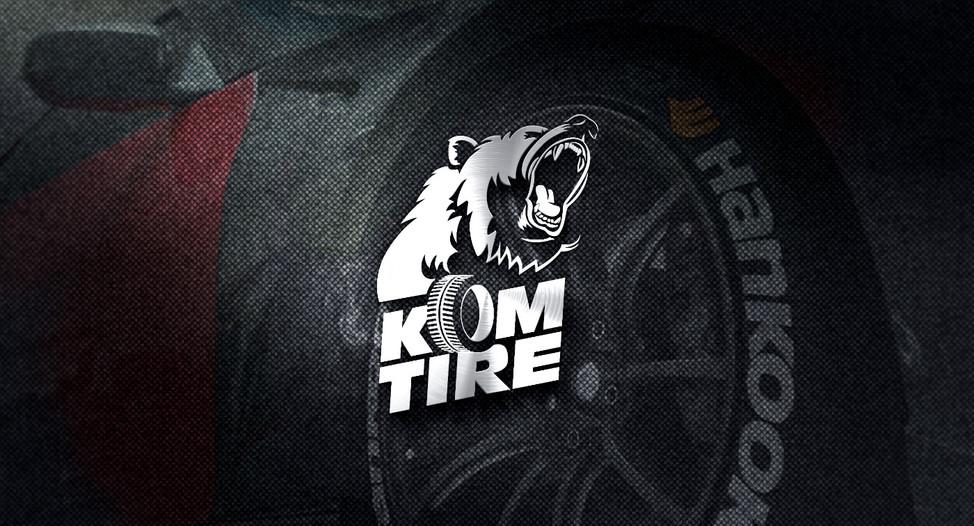 Kom Tire Logo Tasarım