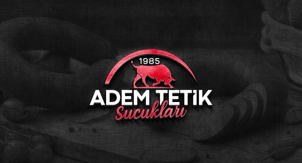 Adem Tetik Sucukları Logo Tasarım