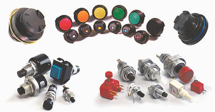 Rotary Switch, Optical Encoder, Hall Effect Encoder, Optical Joystick, Keypad, CANbus Keypad, CANbus Display, CANbus Joystick, Dip Switch, Pushbutton, Rotary Encoder, Hall Effect Joystick