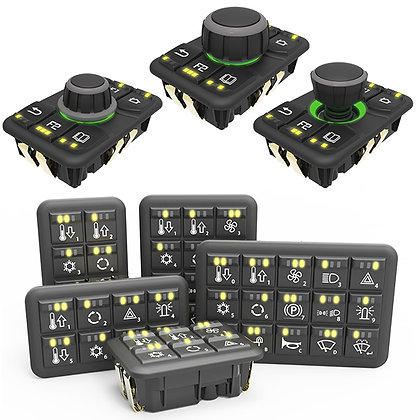 CANbus Keypads and MMI Controllers