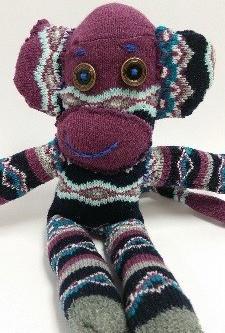 How a Sock Monkey Helps Heal
