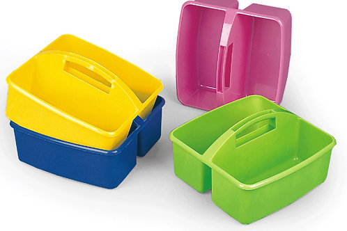 Variety of Plastic, Multi-color Accessory Trays
