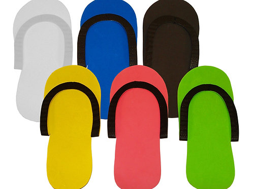 Foam Pedicure Thong Slippers - Mixed Color