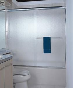 Rain Glass Bathtub Enclosure