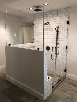 Beautiful 3 Sided Shower