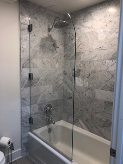 Arch Style Door over Tub
