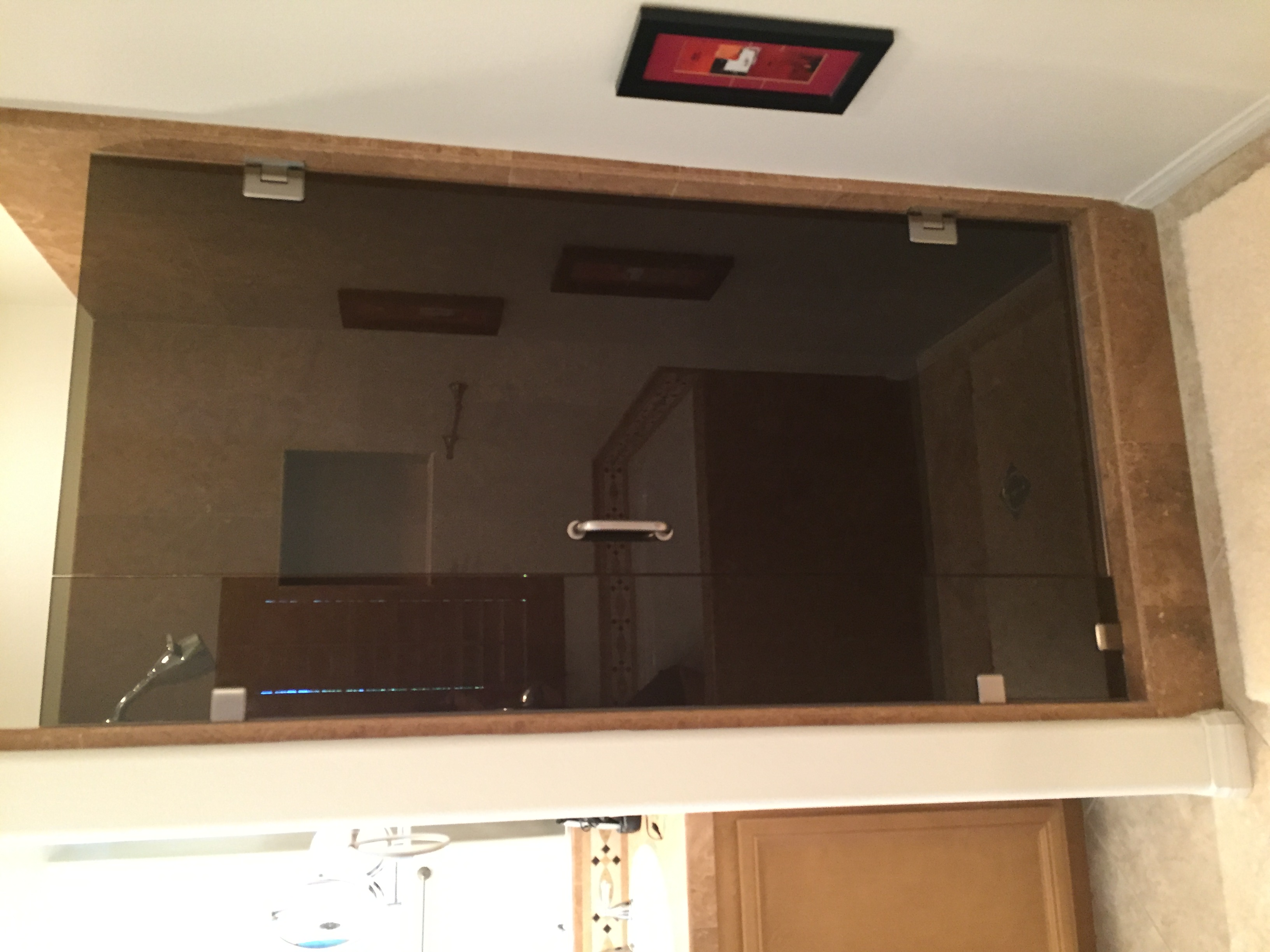 Bronze Shower Enclosure