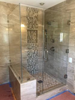 Three Hinge Shower Door