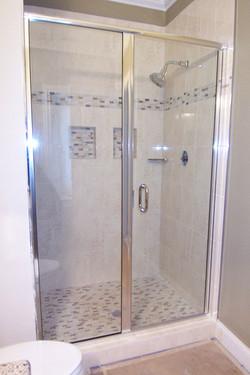Semi-Frameless Door and Panel