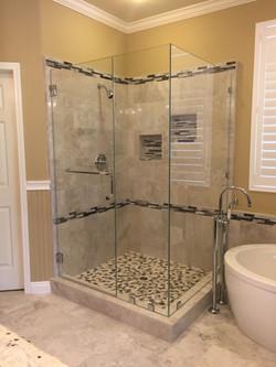 90 Degree Shower Enclsoure