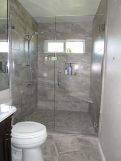 Alcove Glass Shower