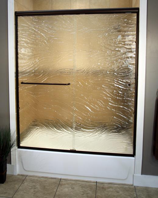 Safari Pattern Shower Doors