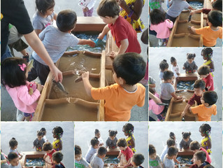 Sensory Play and Mathematics