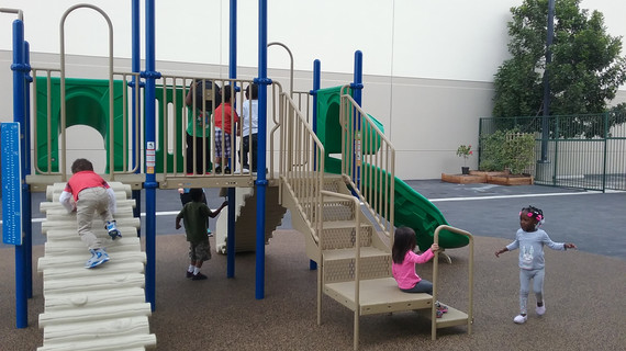 Morning playtime at Twinkle Tots