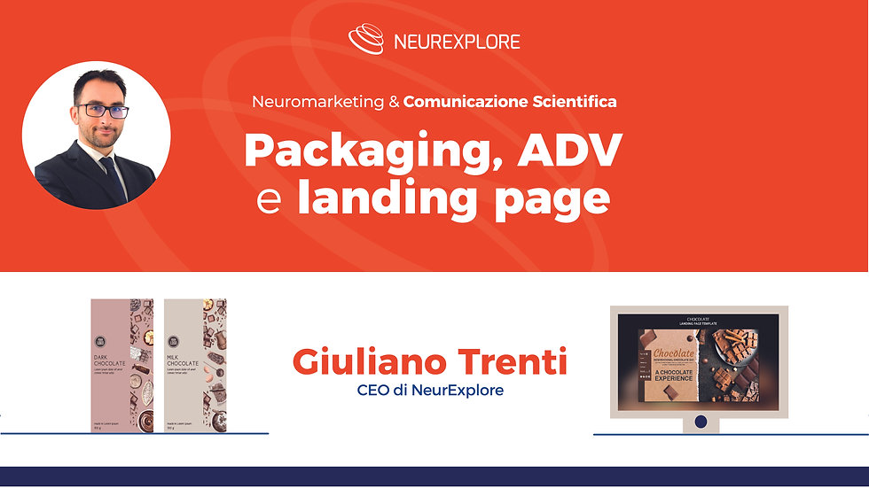 Packaging, ADV e landing page