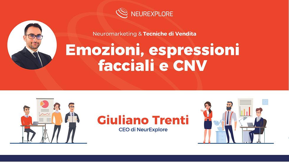 Emozioni, espressioni facciali e CNV