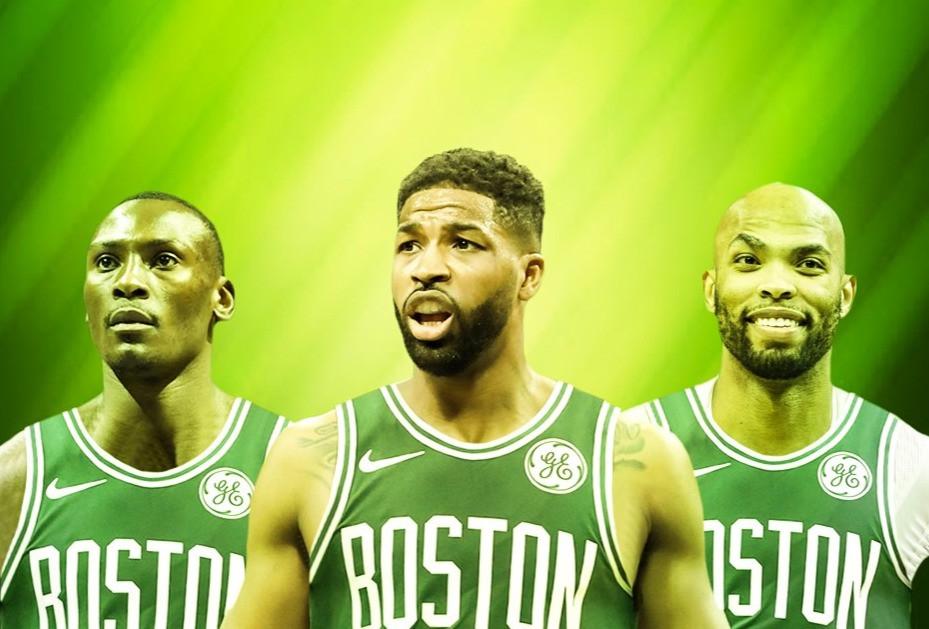 Thompson_Biyombo_Gibson_Boston_Celtics_NBA_Around_the_Game