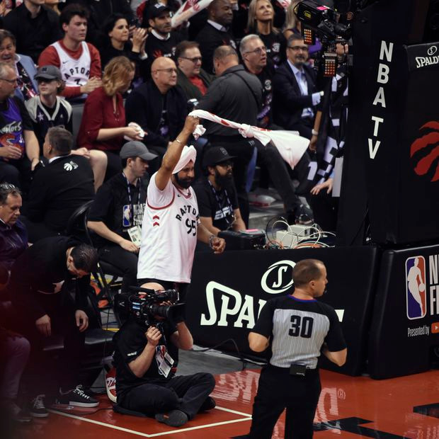 Nav Bathia Toronto Raptors NBA Around the Game
